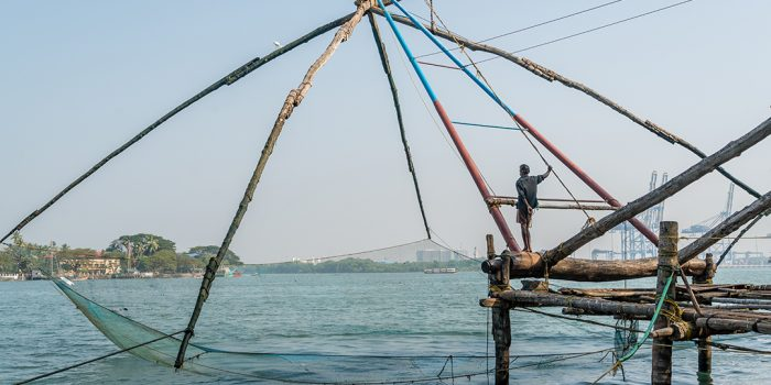 The Chinese Fishing Nets of Fort Cochin