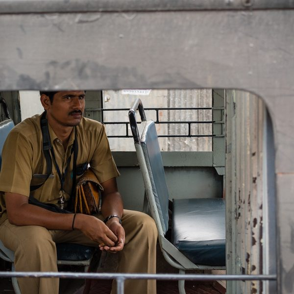 Conductor on the Bus to Chennai
