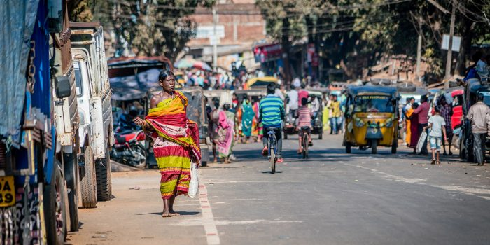 Women at the Market in Odisha