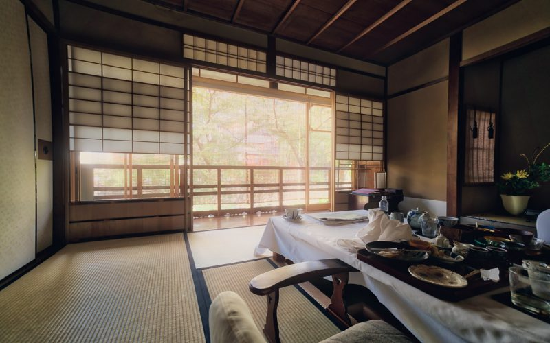 Kyoto Ryokan Stay and Nine Course Meal
