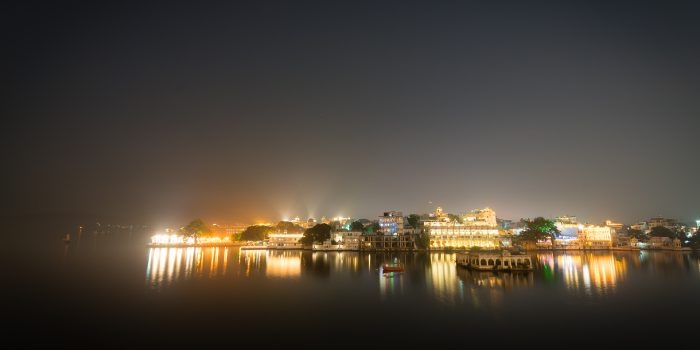 Lake Pichola Udaipur by Night