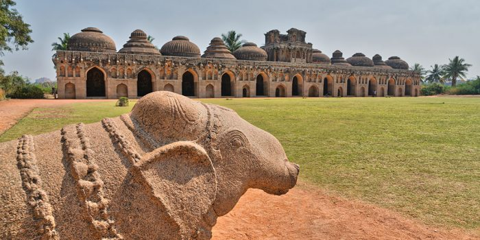 Vijayanagara - The Elephant Stables