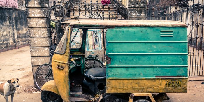 Old Auto Rickshaw of Kolkata