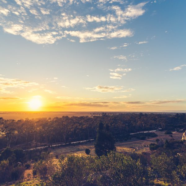 Sunrise on Mount Arapiles