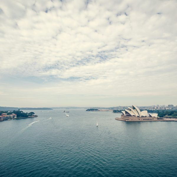 Sydney Opera House View from the Harbour Bridge