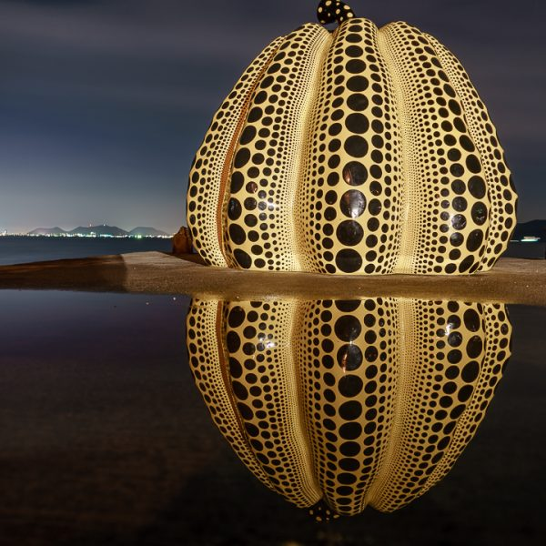 Giant Pumpkins and Yurts on Naoshima Art Island