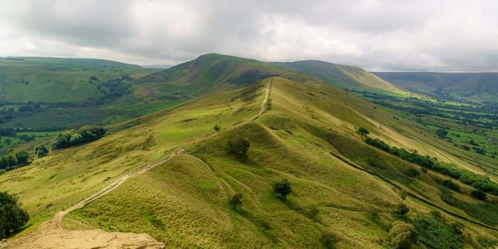 Shot of Mam Tor