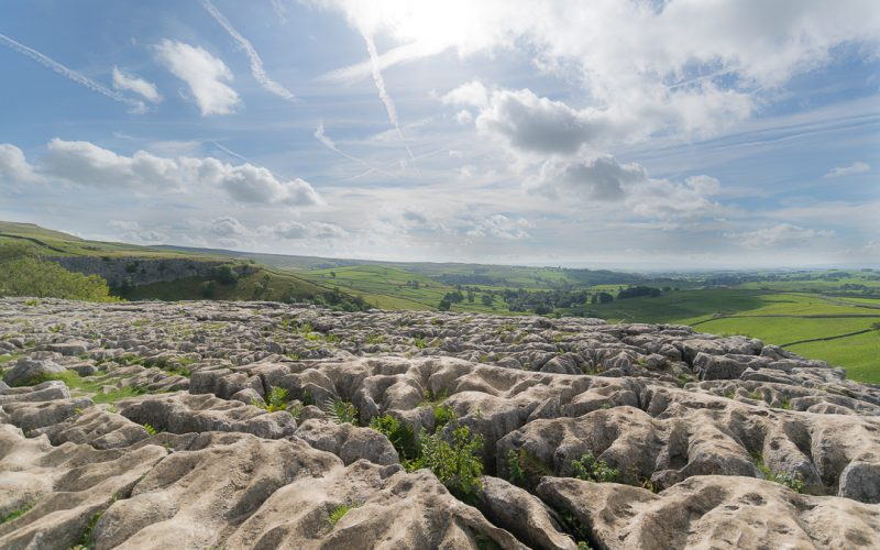 Rock Formations Malham Cove