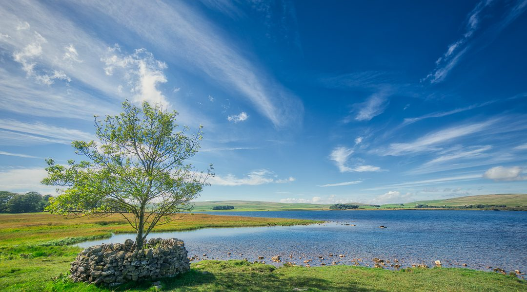 Malham Tarn on the Pennine Way